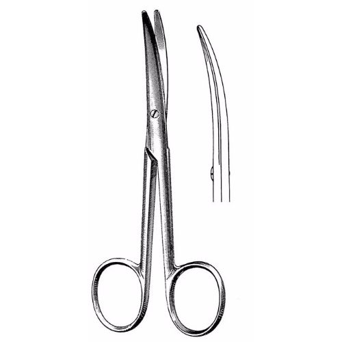 Enucleation Scissors 13.0 cm , 32mm Blades, Light Curve | JFU Industries