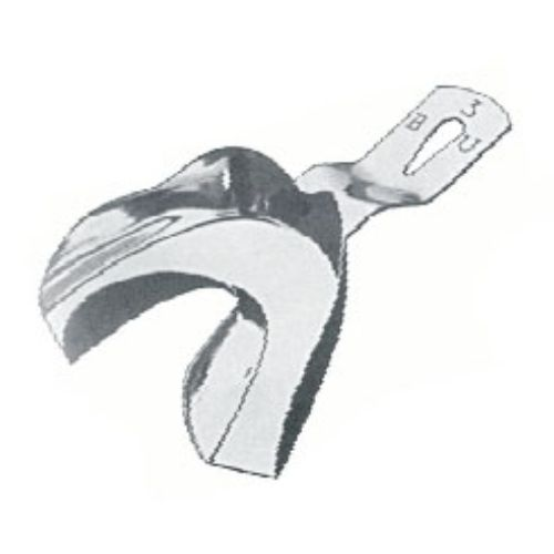 Impression Tray Inf B ,Bu, Toothed Lower Jaws, Unperforated, Fig. 1 | JFU Industries