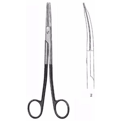 Freeman-Gorney Face Lift Scissors 19.0 cm , Curved, Super-Cut | JFU Industries