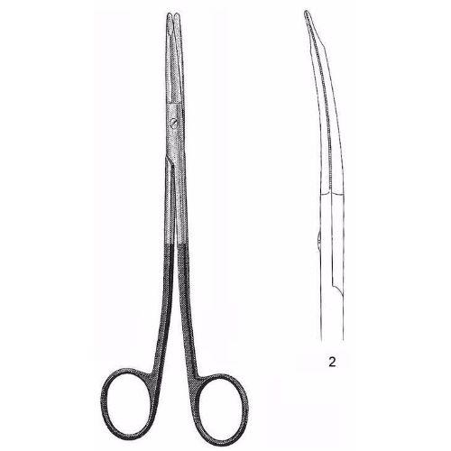 Freeman-Kaye Face Lift Scissors 18.0 cm , Curved, Super-Cut | JFU Industries