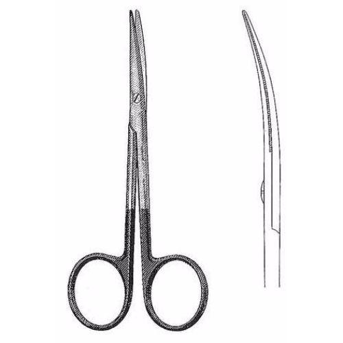 Plastic And Reconstructive Scissors 11.4 cm , Curved, Super-Cut | JFU Industries