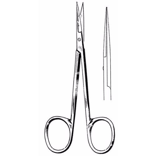 Iris Scissors 10.5 cm , 22mm Blades, Delicate, Straight | JFU Industries