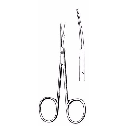 Iris Scissors 10.5 cm , 27mm Blades, Delicate, Curved | JFU Industries