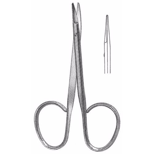 Utility Scissors 10.5 cm , 15mm Blades, Flat Shanks, Straight | JFU Industries