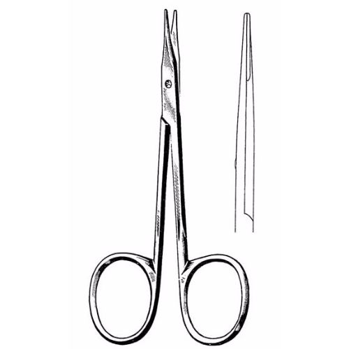 Stevens Tenotomy Scissors 11.4 cm , 13mm Blades, Blunt Tips, Slender Pattern, Straight | JFU Industries