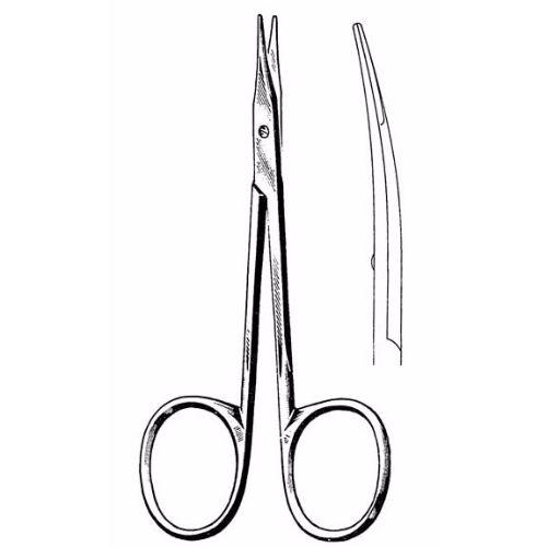 Stevens Tenotomy Scissors 11.4 cm , 13mm Blades, Blunt Tips, Slender Pattern, Curved | JFU Industries