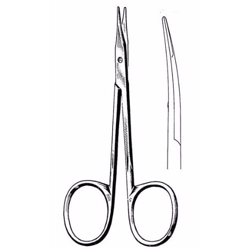 Stevens Tenotomy Scissors 10.5 cm , 12mm Blades, Blunt Tips, Standard Pattern, Curved | JFU Industries