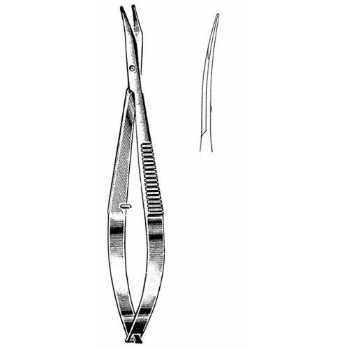 Westcott Tenotomy Scissors 11.4 cm , 18mm Blades, Round Blunt Tips, Left, Curved | JFU Industries