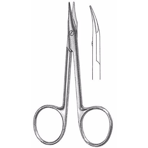 Gradle Stitch Scissors 9.5 cm , 13mm Blades, Blunt Tips | JFU Industries