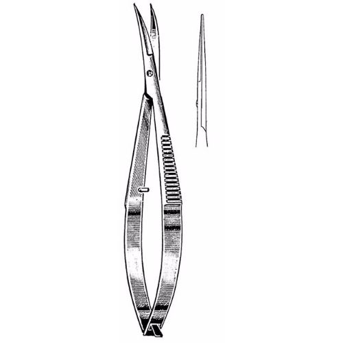 Micro Stitch Scissors 11.4 cm , 16mm Blades, Sharp Tips, Straight | JFU Industries