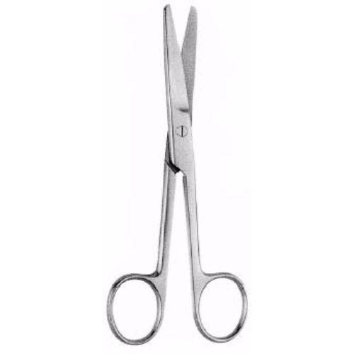 Operating Scissors 13 cm ,Curved, Sharp-Blunt | JFU Industries