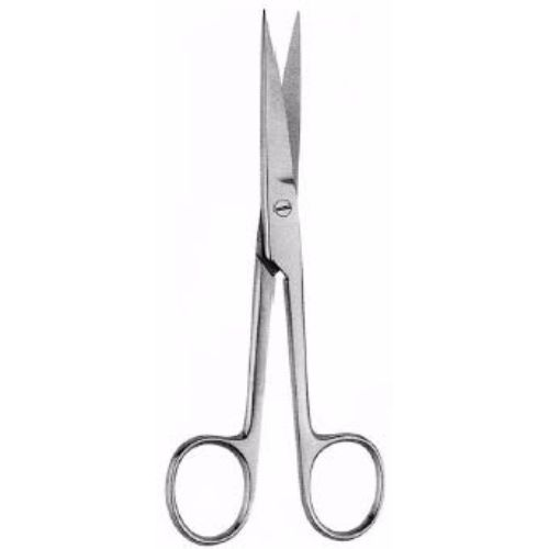 Operating Scissors 13 cm ,Curved, Sharp-Sharp | JFU Industries