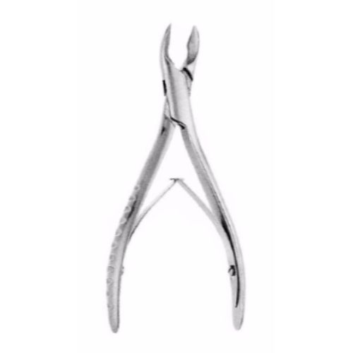 Cleveland Bone Cutting Forceps 17 cm ,Curved | JFU Industries