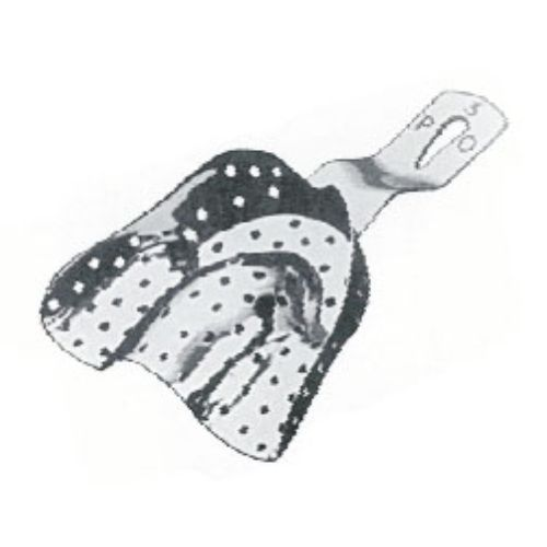 Impression Tray Sup P ,Po, Partially Toothed Upper Jaws, Perforated, Fig. 1 | JFU Industries