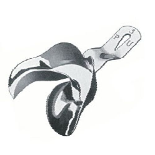 Impression Tray Inf P ,Pu, Partially Toothed Lower Jaws, Unperforated, Fig. 1 | JFU Industries